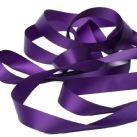 Aubergine Purple Satin Ribbon